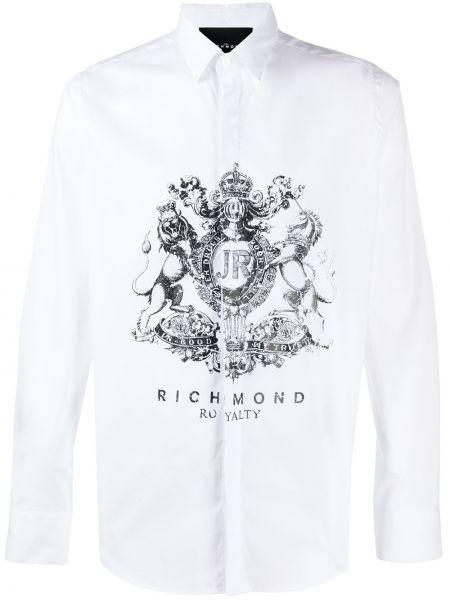 Koszula z długim rękawem klasyczna długa John Richmond