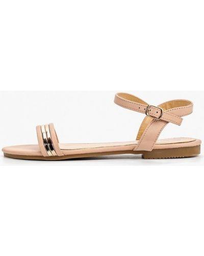 Сандалии бежевые Style Shoes