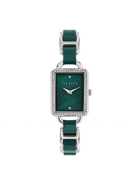 Zielony zegarek srebrny Ted Baker