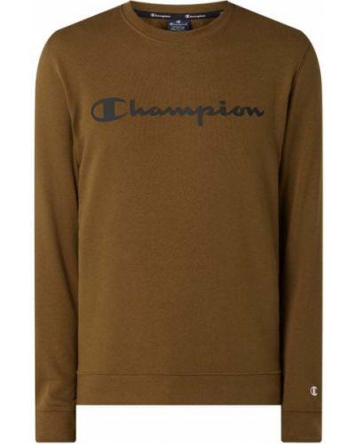 Bawełna bawełna zielony bluzka z dekoltem Champion