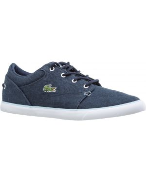 Кеды на шнуровке темно-синий Lacoste