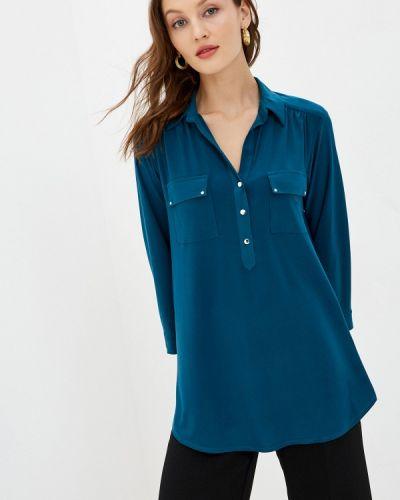 Бирюзовая с рукавами блузка Wallis