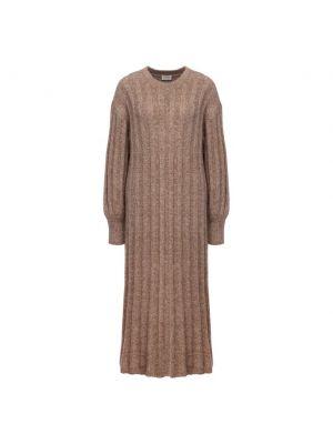 Шерстяное платье - бежевое By Malene Birger