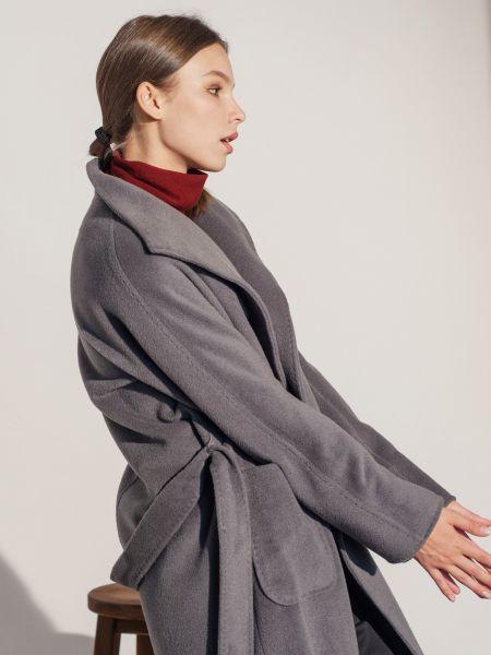 Пальто casual - серое Mariolli