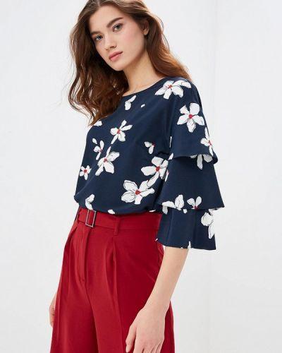 Блузка с длинным рукавом серая весенний Zarina