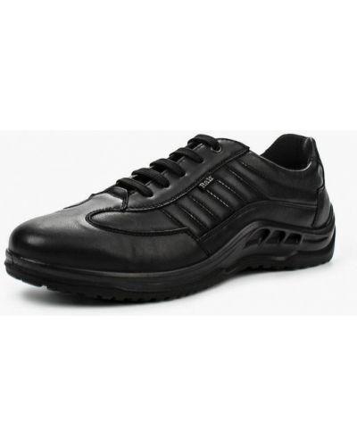 Черные кожаные ботинки Ralf Ringer