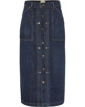 Юбка миди джинсовая пачка Polo Ralph Lauren