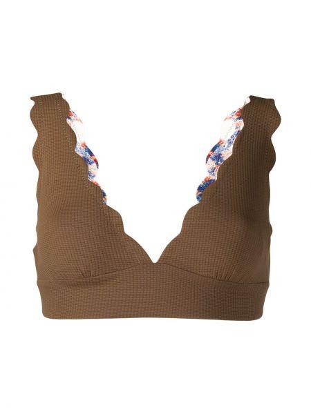 Пляжные коричневые бикини Marysia
