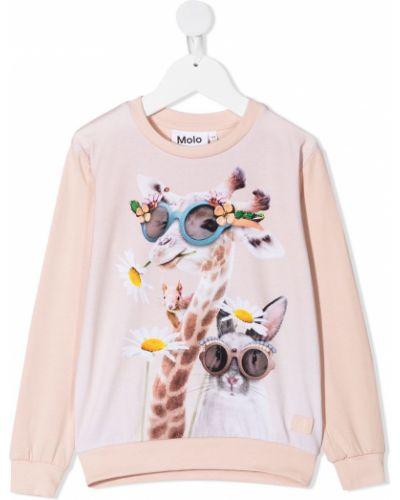 Bluza, różowy Molo
