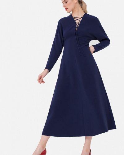 Платье - синее Jn