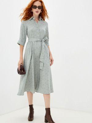 Зеленое платье летнее Doroteya