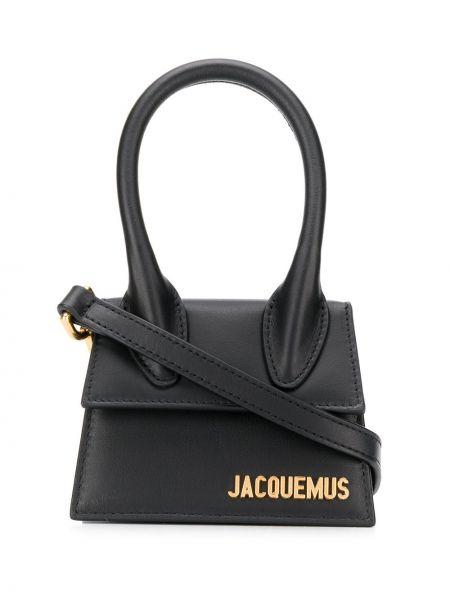 Черная маленькая сумка Jacquemus