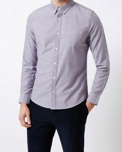 Рубашка с длинным рукавом серая индийский Burton Menswear London