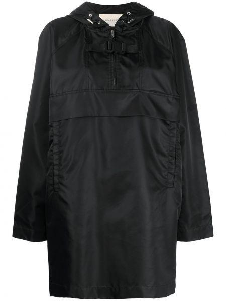 Черное длинное пальто с капюшоном 1017 Alyx 9sm