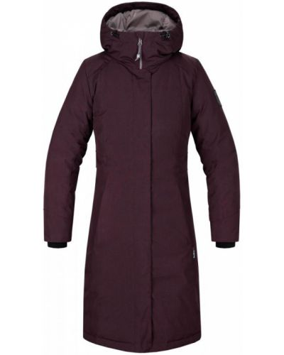 Пальто с капюшоном - малиновое Red Fox