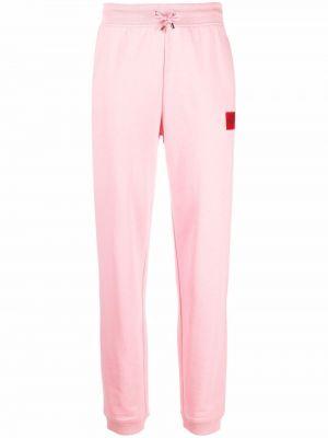 Розовые брюки с поясом Hugo