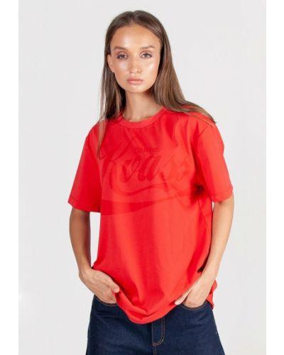 Красная футболка Kriza