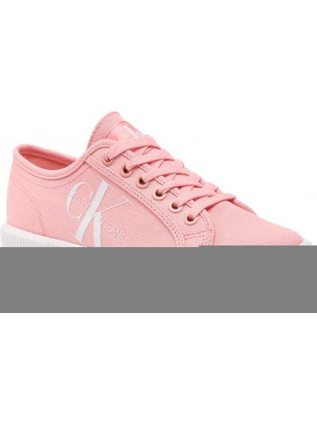 Różowe półbuty casual Calvin Klein Jeans