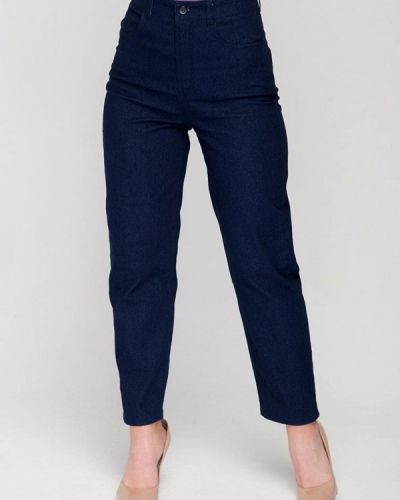 Синие прямые джинсы Fors