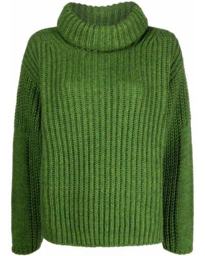 Шерстяной джемпер - зеленый Essentiel Antwerp