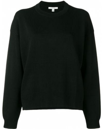 Черный свитер узкого кроя Dagmar