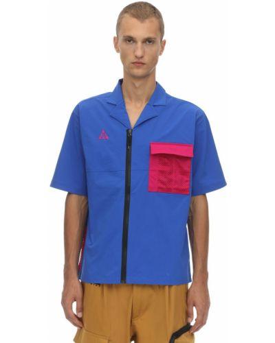 Рубашка с короткими рукавами с карманами на молнии Nike Acg