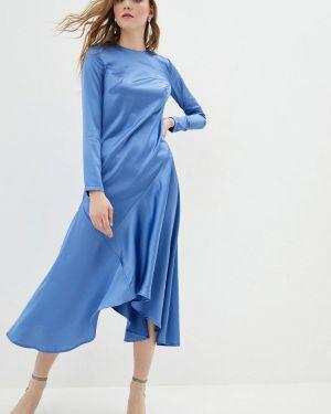 Платье - голубое Jhiva