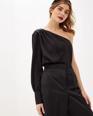 Блузка с открытыми плечами салатовый Lime