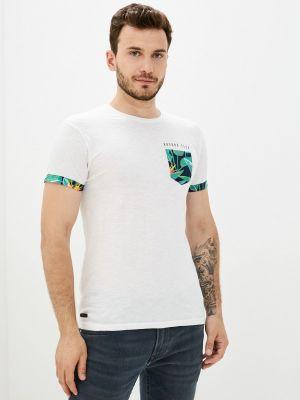 Белая зимняя футболка Hopenlife