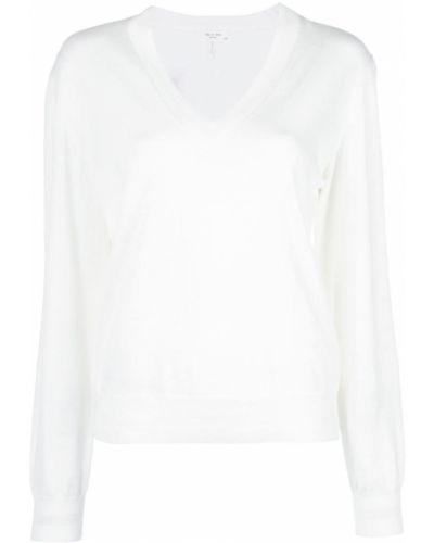 Рубашка с длинным рукавом белая в полоску Rag & Bone