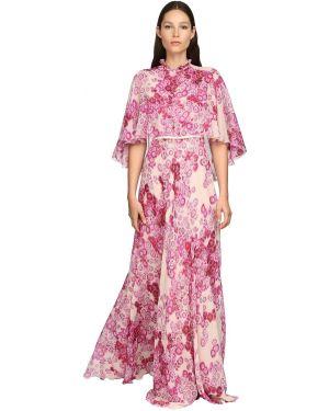 Платье макси с завышенной талией с поясом Giambattista Valli