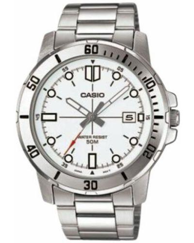 Biały zegarek Casio