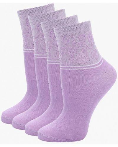 Фиолетовый носки набор Alla Buone