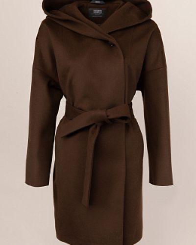 Шерстяное пальто - коричневое каляев