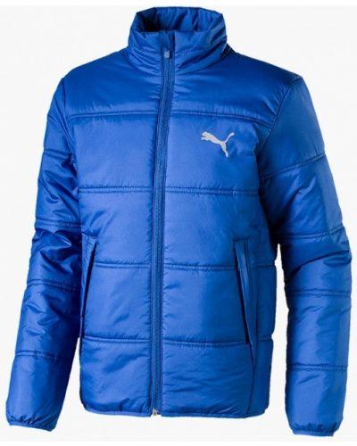 Куртка теплая синий Puma