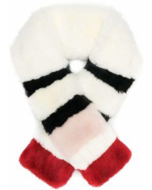 Белый акриловый шарф La Seine & Moi