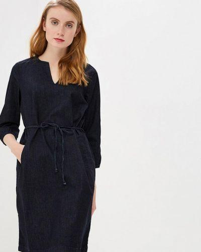 Джинсовое платье весеннее синее Tom Tailor