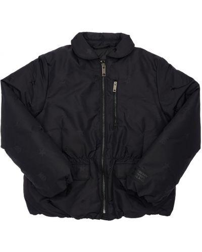 Черная куртка с карманами Burberry