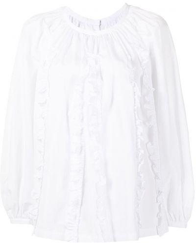 Хлопковая блузка - белая Comme Des Garçons Comme Des Garçons