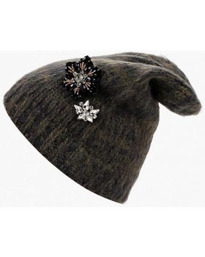 Зеленая шапка осенняя Zarina
