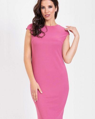 Розовое платье-футляр Prima Linea