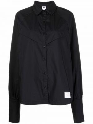 Рубашка с длинным рукавом - черная Nike
