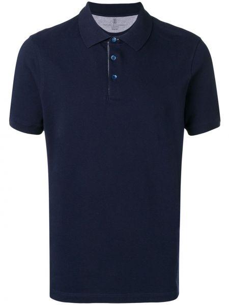 Koszula krótkie z krótkim rękawem klasyczna prosto Brunello Cucinelli