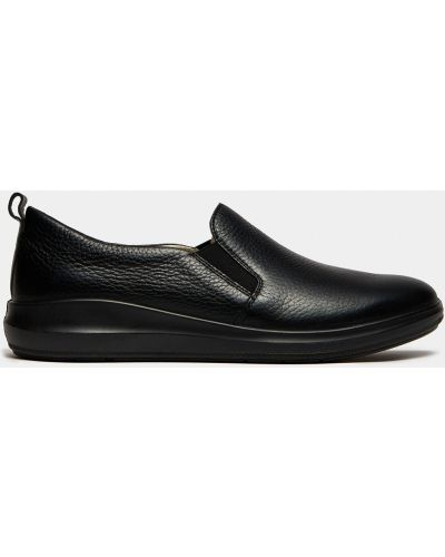 Городские черные кожаные полуботинки Ralf Ringer