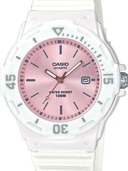 Водонепроницаемые часы розовый с подсветкой Casio