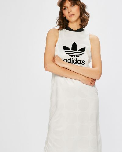 Платье мини прямое трикотажное Adidas Originals
