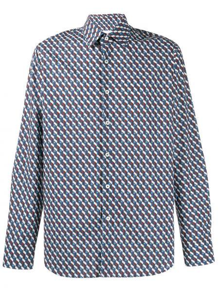 Koszula z długim rękawem klasyczna włoski Prada