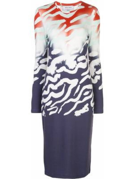 Платье с градиентом длинное Prabal Gurung