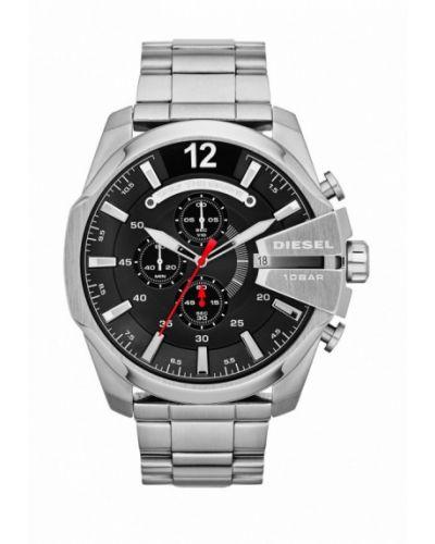 Серебряные часы Diesel