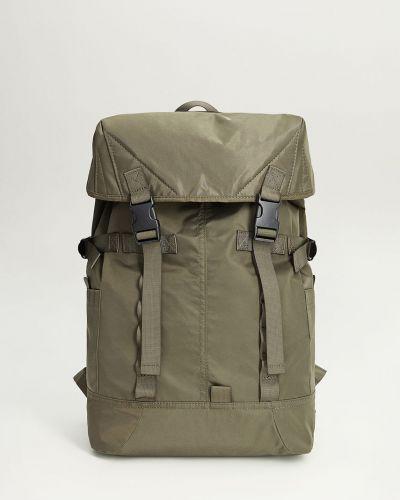 Plecak na laptopa z paskami z wzorem Mango Man